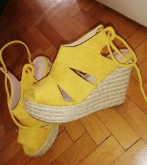 Nove senf zute sandale snizene 1200