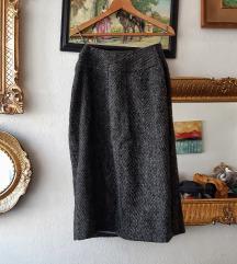 Pencil suknja od VUNE VINTAGE