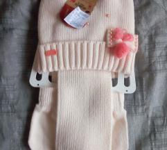 Komplet kapa sal rukavice sa etiketom