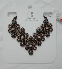P.... S.... Fashion glamurozna ogrlica NOVO