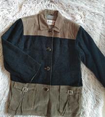 Retro kožna jakna