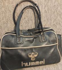 Crna Hummel kozna torba