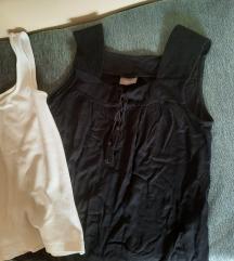 Boho YESSICA majica i bela obična pamucna