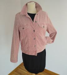 Nova H&M jakna od somota prljavo roze