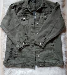 NOVA Maslinasto zelena jakna sa etiketom, M/L