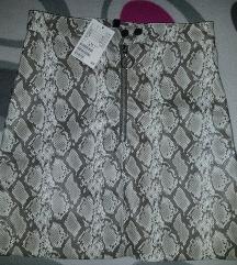 Nova-H&M kozna suknja