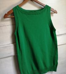 Zara zeleni džemper