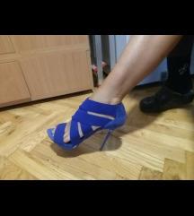 Zara plave sandale