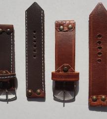 Kožna narukvica za sat 24mm (Prirodna koža)