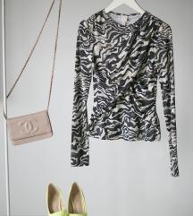 HM zebrasta naborana majica, vel. S
