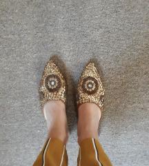 SNIZENJE Mule papuce sa od sljokica