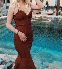 Crvena haljina uzivo slika