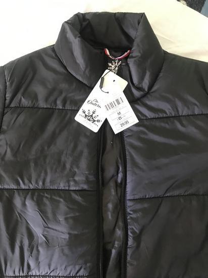 Chicoree crna jakna, novo, M