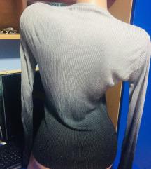 Džemper ombre sa štrasom