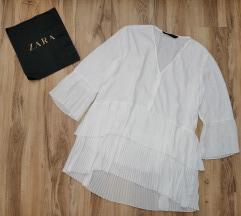 Zara plisirana tunika/kosulja kao nova