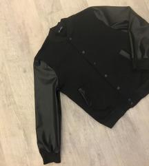Nova koledž jakna sa kožnim rukavima