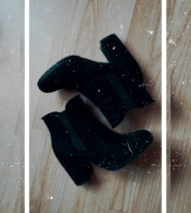 Cipele sa debelom stiklom