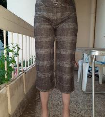 Catania karirane pantalone