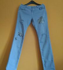 NOVO sive pantalone L