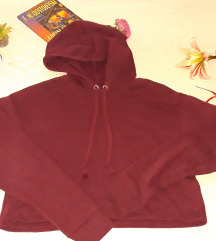 ***Crop bordo duks*** kao nov