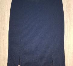 Suknja teget plava