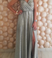 Svecana wrap haljina