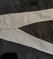 Zara dubok struk bele pantalone vel.40