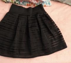 Mala crna suknja S