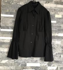 novo! Essentiel crna košulja zvonastih rukava