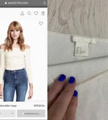 H&M trikotazna majica novo SNIZENO 1000