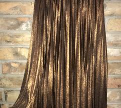 Koton metalik suknja