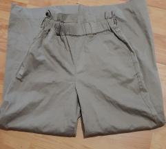 Asos pamucne pantalone dubok struk NOVE