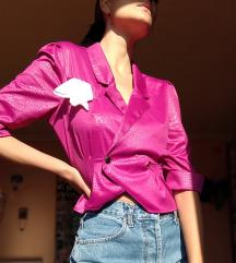 Pink bluza u stilu 80ih