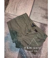 H&M sorc maslinasti S