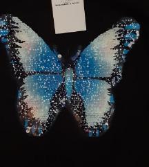 💐 Majica duks tunika leptir NOVO sada 250