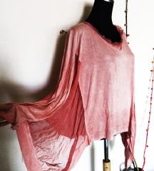 Asimetricna italijanska bluza (100%svila)