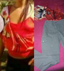 b.e.b.e. majica i pantalone sa dzepovima S