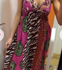 Letnja haljina na bretele u boho stilu NOVA