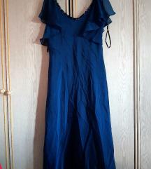 Kraljevsko plava NOVA duga haljina