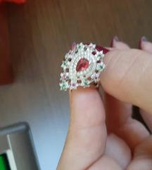 Rasprodaja!Srebrni prsten 17mm