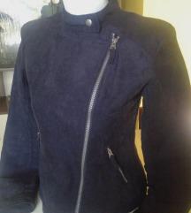 Crna rokerska jakna, novooo