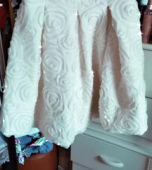 Suknja sa 3d cvetovima like Mihano Momosa