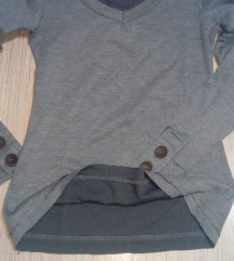 Siva duks majica dugih rukava S