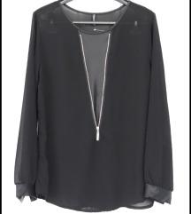 Crna bluza, L veličina,kao nova