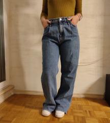 Zara wide leg farmerke