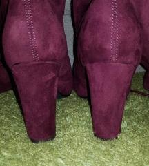 Bordo cizme sa stiklom