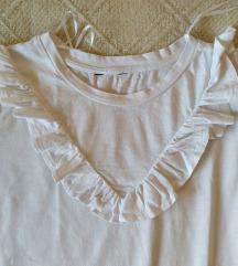 Bela majica sa karnerom S / M