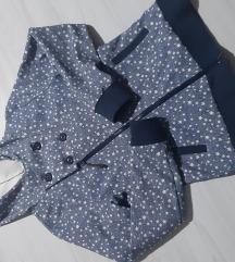 CASUAL jakna sa zvezdicama vel. M - kao nova