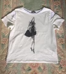 ZARA majica sa printom.