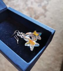 Swarovski starfish providne visece mindjuse